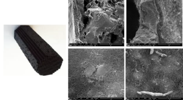 From nano- to macro-structuring of carbon materials for environmental catalytic applications